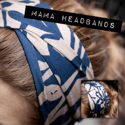 Mama Headbands - Cotton or Polyester