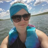 UV Headbands At the Lake