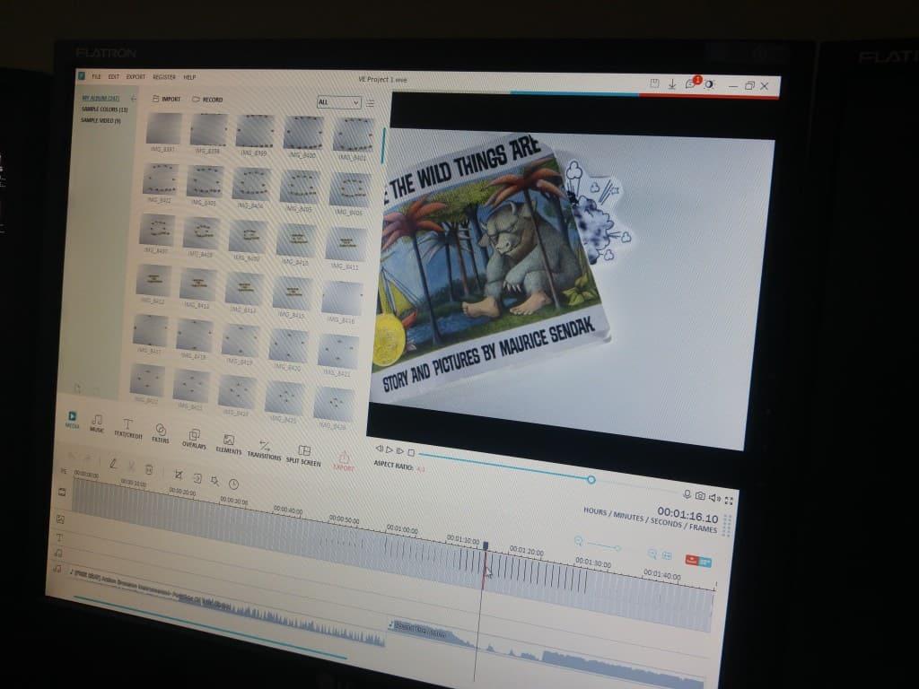 editing stop motion