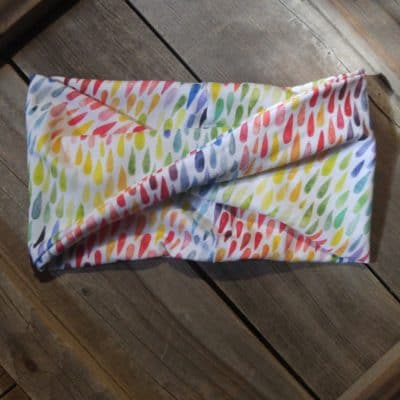 Watercolor Rain Headband