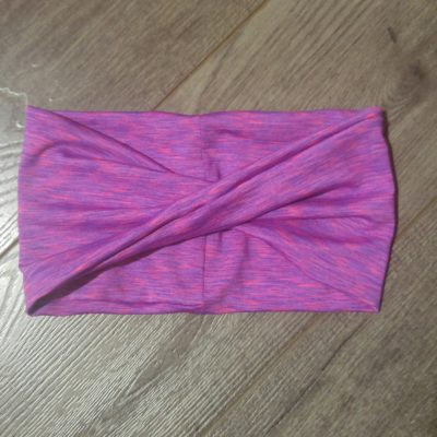 Pink Moisture Wicking Headband
