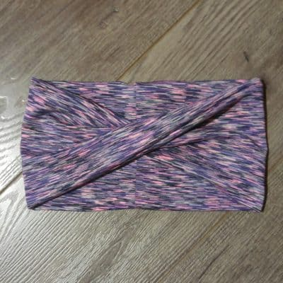 purple moisture wicking headband