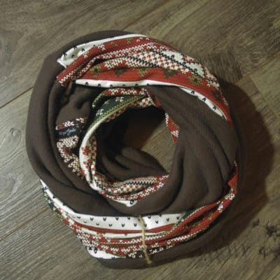 Vintage Christmas Deep Freeze Scarf