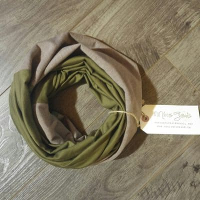 Army Merino Wool and Bamboo Mens Scarf