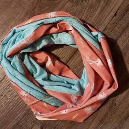 Coral Spring Scarf