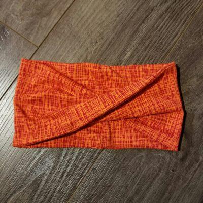 Orange Off the Grid Headband