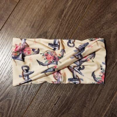 Anchors Bamboo Headband