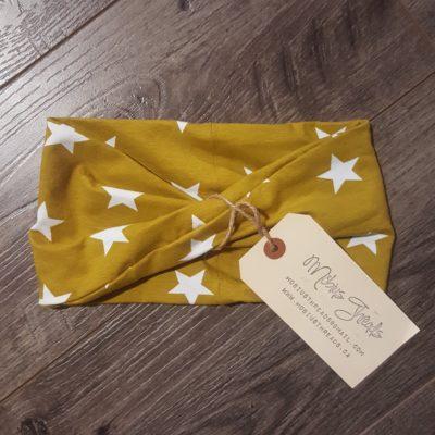 mustard stars headband